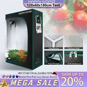 Mars Hydro 4'x2' Mylar Hydroponic Grow Tent Room For Indoor Plant Growing 1680d