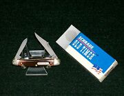 Schrade 104ot Old Timer Knife 2-3/4 Closed The Minuteman 2001 W/packaging Usa