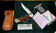 Schrade Lockback Knife Lb7 Uncle Henry Circa-1980's W/original Packaging,papers