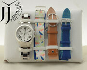 New Fossil Womenand039s Limited Edition Cecile Multifunction Watch Set Le1036 4straps