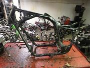 1988 Honda Shadow Vt 1100 Vt1100 Motorcycle Frame Straight Chassis