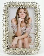 Ciel Collectables The Vine Picture Frame Crystal Silver Plating.