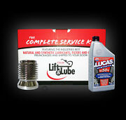 Harley Vrod Basic Service Kit With S10 Kandp Oil Filter And Lucas 10w-40 Oil