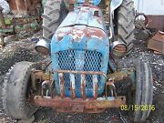 Ford Fordson Dexta Tractor Salvaging For Parts