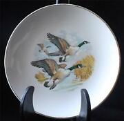 Vintage Lord Nelson Pottery China England Handcrafted Geese In Flight 7 Plate