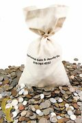 Unsearched World Coins Lots 1lb Mixed Foreign Coin By Weight Full Pound