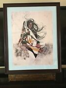 Penni Anne Cross Lithograph Print