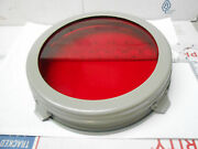 6417 Red Lens Carlisle And Finch Signal Light Filter 7 Slip On New Old Stock