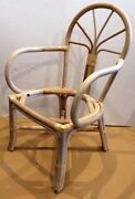 Set Of 40 Unfinished Rattan Arm Chairs 45 Each
