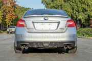 For 15-up Wrx / Sti Axie Back 4 Double Wall Quad Tips Exhaust Muffler Delete