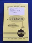 A Little Yellow Dog - Uncorrected Proof Signed By Walter Mosley