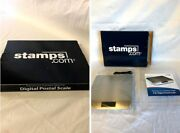 Stamps.com Stainless Steel 5lb. Digital Postal Scale Lcd Usb