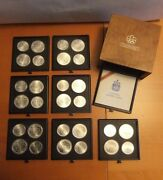 1976 Montreal, 7 Series Canada Xxi Olympics Coin Mint Set Of 4 5 And 10