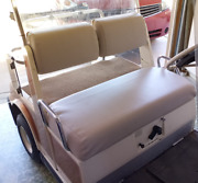 Yamaha G2 Or G9 Staple On Golf Cart Seat Cover Only For G-2 Or G-9solid Color