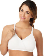 2 Playtex Nursing Seamless Wirefree Bras With Shaping Foam Cups 4958