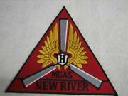 Large Jacket Patch Usmc Mcas Marine Corp Air Station New River 9 Each Side