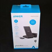 Anker Power Wave Evo Stand High-speed Wireless Charging+quick Charger Qi