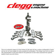 Chevy 454-460 Bal. Scat Stroker Kit 2pc Rs Forgeddomepist. I-beam Rods