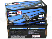 Hawk Street Hps Brake Pads Front And Rear Set For 94-01 Acura Integra Dc 4lugs