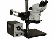 Aven 26800b-352 Spzh-135 Stereo Zoom Microscope With Dbl Arm Boom