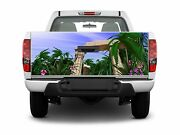 Boat Car Truck Bed Rainforest Tailgate Beach Graphics Decal Wrap Stickers Skins
