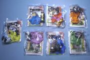 Arbyand039s 2000 Safari Adventure- Continents And Trading Cards - Complete Set Of 7 Mip