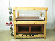 Marco Company 60 Bakery Bread Donut Pastry Wood Display Case Rack 5and039