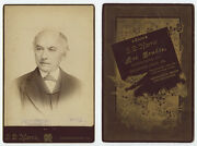Cab Photo Stately Man From Sharpsburg, Pa, Portrait By Morris