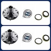 Front Wheel Hub Andoem Koyo Bearing Andseal For Toyota Tundra 2000-06 4wd Only Pair
