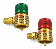 Smith Little Torch Preset Regulators For Use With Disposable Tanks Set Of 2