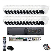 24ch 1080p Hdmi Dvr 2.6mp 4-in-1 Tvi 960h Varifocal Security Camera System Dome