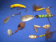 Lots Of Old Vintage And Antique Fishing Lures Lot 2
