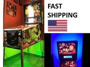 Fish Tales Pinball Machine Mod Color Changing Led Light Kit Part W/ Remote