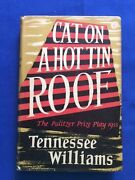 Cat On A Hot Tin Roof - First British Edition By Tennessee Williams