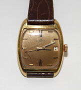 Re304 Fortis Vintage. 18k Yellow Gold. Automatic. SÁndor Kocsis. Swiss. 1971