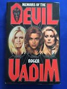 Memoirs Of The Devil - First Edition Inscribed By Film Director Roger Vadim