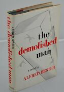 Alfred Bester - Signed And Inscribed - The Demolished Man - First Edition - 1953