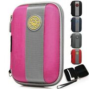 Portable 3.5 Hdd Hard Disk Drive Battery Storage Box Zipper Carrying Case Bag