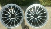 Rare Huricane Wheels From 1970s Set Of 4
