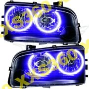 Oracle Halo Headlights Non Hid Dodge Charger 05-10 Purple Led Angel Demon Eyes