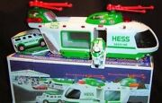 Hess 2001 Collectible Helicopter Motorcycle Cruiser