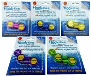 Hook-eze Fishing Tool - 5 Twin Packs - Hook Tying Safety Device + Line Cutter