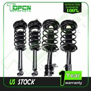 For 2002-03 Nissan Maxima All 4 Complete Struts And Coil Springs Quickly Install