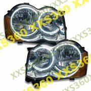 Oracle Halo Headlights Non Hid For Jeep Grand Cherokee 08-10 White Led Angel Eye