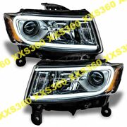 Oracle Halo Headlights Non Hid For Jeep Grand Cherokee 14-15 White Led Angel Eye