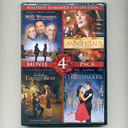 4 Holiday Romance Movies New Dvds Time Annie Claus Engagement Christmas Kiss