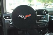 2005 - 2013 Corvette C6 Steering Wheel Cover By Seat Armour