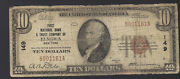 1929 10 The First National Bank And Trust Company Of Elmira, Ny Banknote 149