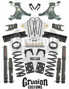 Chevy Silverado Andfrac12 Ton 1988-1991 4/6 - 5/7 Lowering Kit W/ Nitro Shocks Belltech