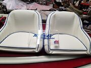 Jet And V-drive Boat Snap In Covers Basic Colors For Jbp Glass Bucket Seats